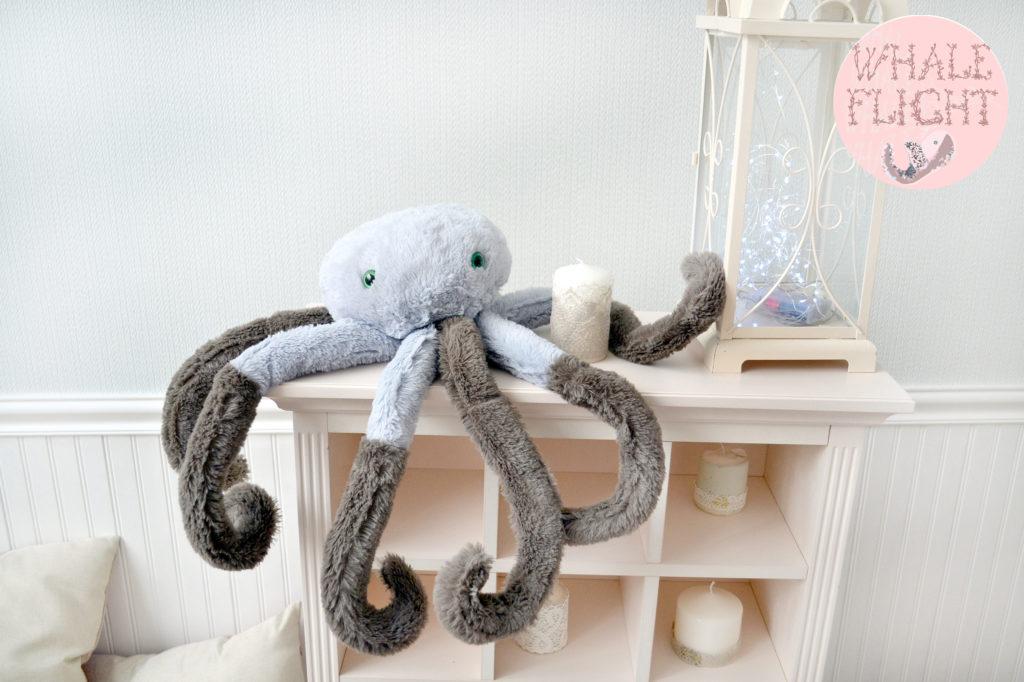 игрушка мягкая осьминог