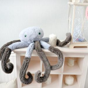 мягкие игрушки осьминог