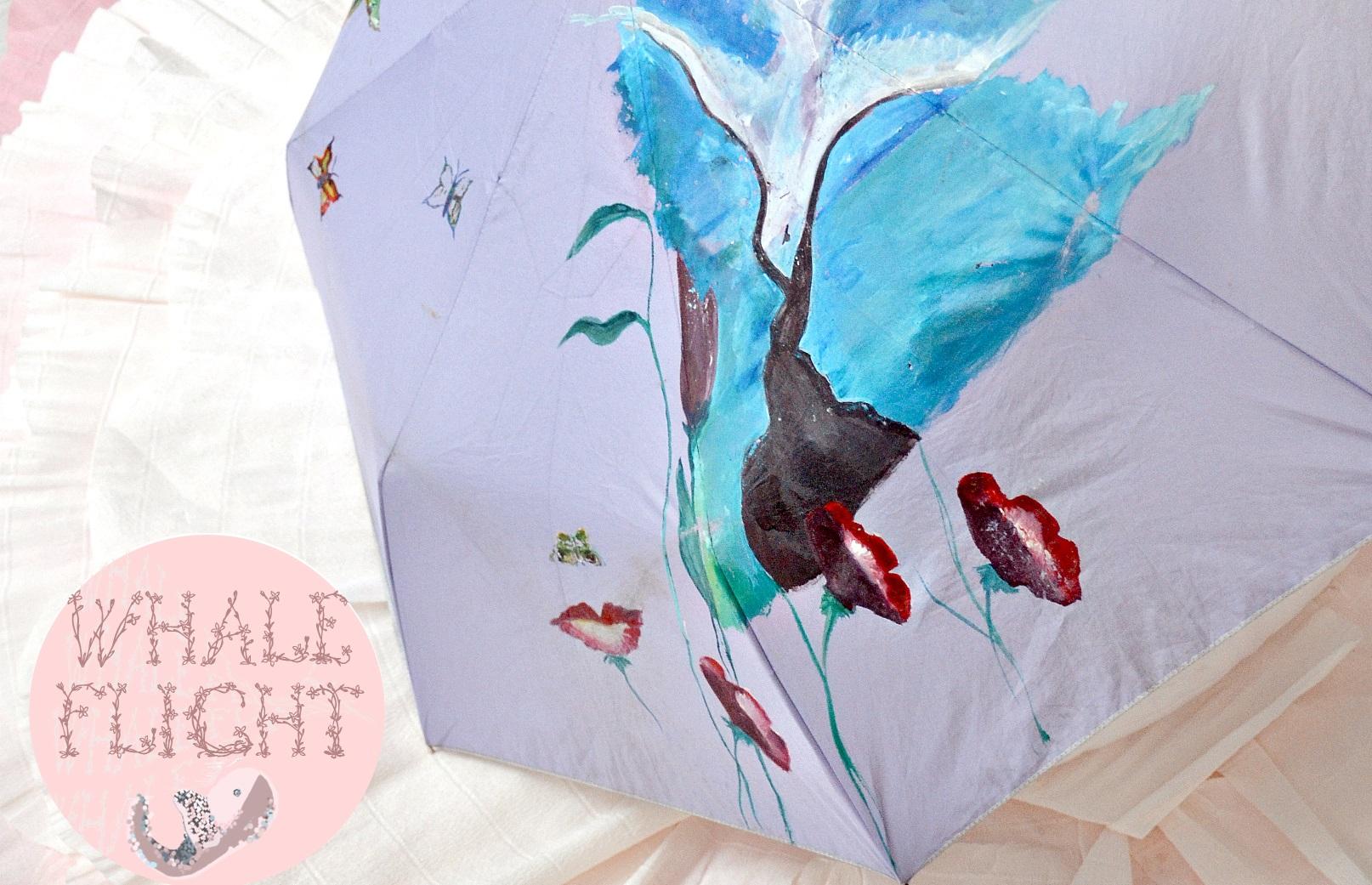 Зонт ручной работы 2