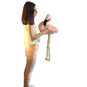 Мягкая игрушка фламинго  2